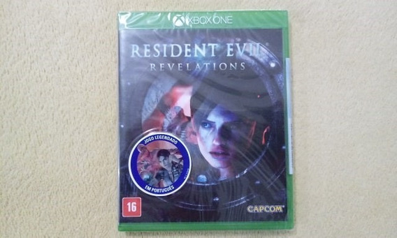 Jogo Resident Evil Revelations Xbox One Original