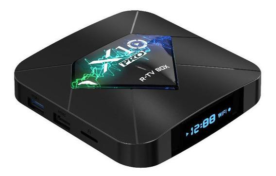 R-tv Box X10 S905w 2 Gb 16 100 M Lan 2.4g Wi Fi Android 4 K