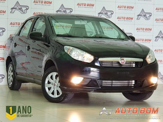 Fiat Grand Siena Attractive 1.4 8v Com Bancos Em Couro 2014