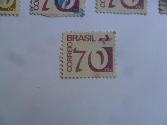 15 Selos Brasil 10-20-30-40-50 E 70 Cts Sendo Um Novo