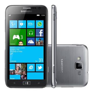 Smartphone Samsung Galaxy Ativ S 3g Dual Core 16gb   Vitrine