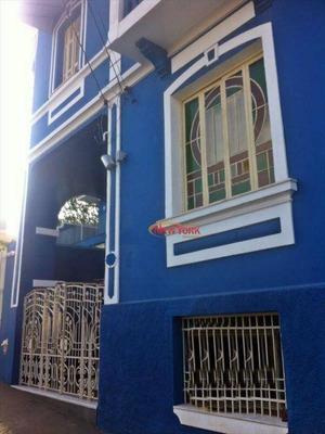 Sobrado Comercial À Venda, Centro, São Carlos. - So0066