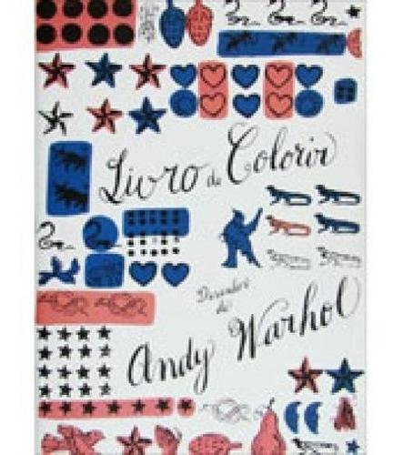 Imagem 1 de 1 de Livro De Colorir - Desenhos De Andy Warhol