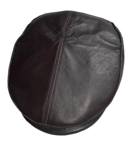 Gorra / Boina De Piel Auténtica 4 Colores Negro, Marrón Etc.
