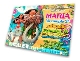 Tarjetas De Cumpleaños Infantil 14 X 10cms Plastificada Mate