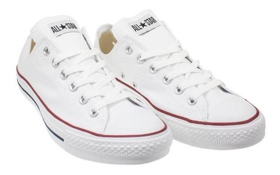 Converse Clásica Color Blanca Importada