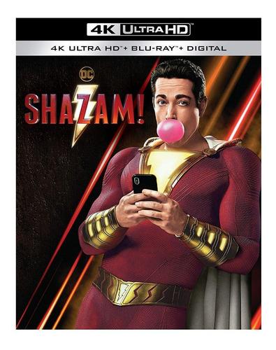 4k Ultra Hd + Blu-ray Shazam !