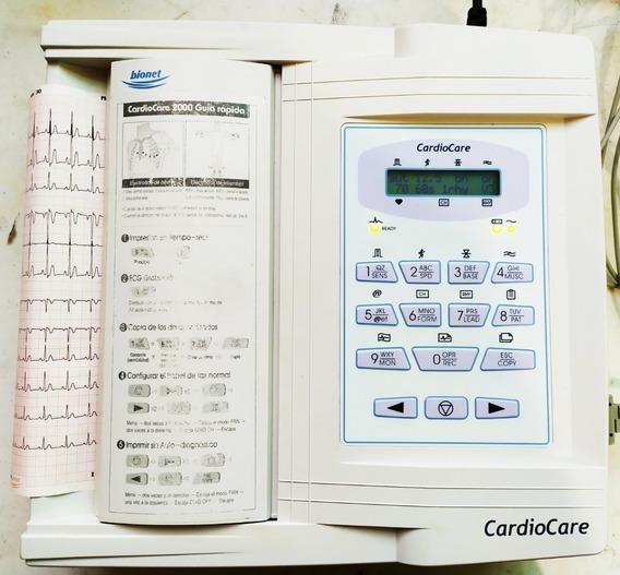 Electrocardiógrafo Ecg Bionet Cardiocare 2000