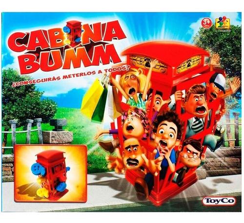 Imagen 1 de 3 de Juego De Mesa Cabina Bumm Toy Co Juego De Habilidad