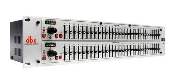 Equalizador Dbx 231s - 2 Canais - 31 Bandas