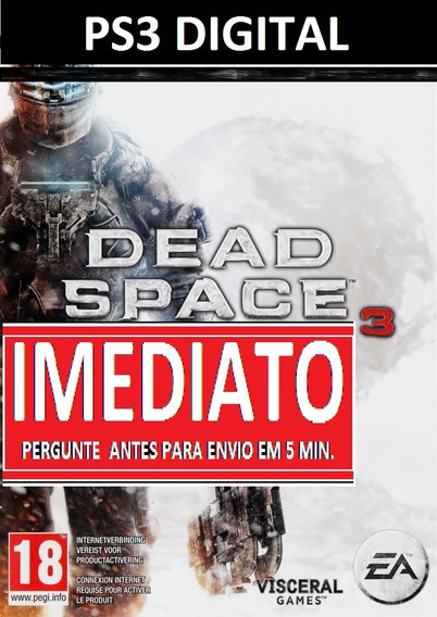 Dead Space 3 Ps3 Psn - Midia Digital
