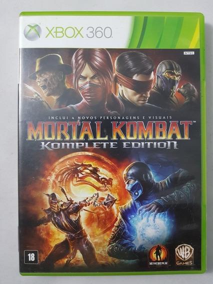 Mortal Kombat 9 Complete Edition Xbox 360 Mídia Física