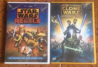 Dvd The Stars Wars La Chispa De Una Rebelión Y Guerra Clones