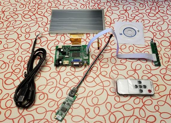 Pantalla Tactil Tontec Raspberry Hdmi Vga Rca 7 Uart Board