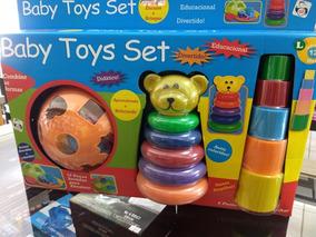 Brinquedo Pedagógico Didático - Mais De 20 Peças Baby Toys