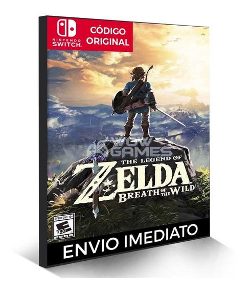 The Legend Of Zelda - Nintendo Switch Código Eshop Sem Juros