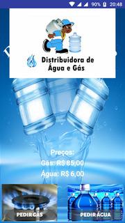 Aplicativo Para Entregas De Gás E Água - Para Distribuidoras