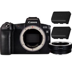 Câmera Digital Canon Eos R + Adaptador Ef/ef-s + Bat. Extra