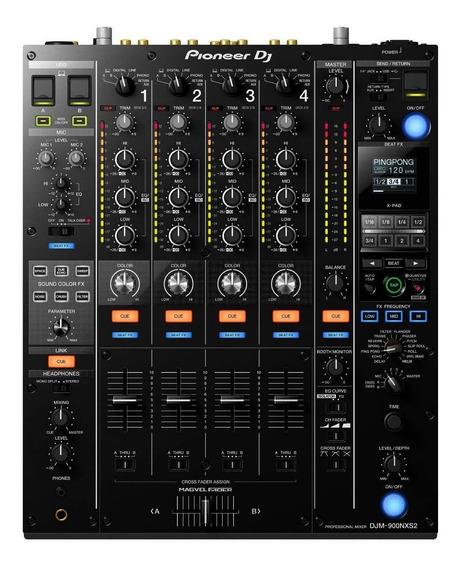 Mixer Pioneer Djm 900 Nxs2 Com Nota Fiscal E Garantia 1 Ano