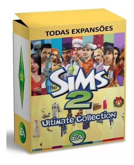 The Sims 2 + Todas As Expansões + Todos Os Pacotes - Pc
