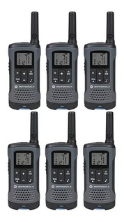 6 Radios Motorola T200 32km 20 Millas Puerto Micro Usb