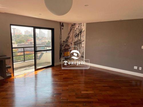 Imagem 1 de 29 de Apartamento Com 4 Dormitórios À Venda, 143 M² Por R$ 590.000,00 - Vila Guiomar - Santo André/sp - Ap17208