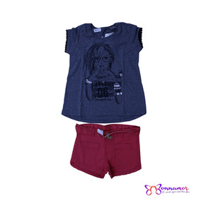 Conjunto Feminino Brandili Tam 6 - Ref: 40873