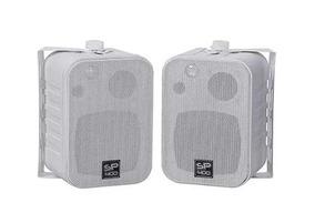 Caixas De Som Acústica Sp400 60w Rms Branca