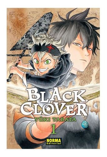 Imagen 1 de 3 de Black Clover Burakku Kuroba #1