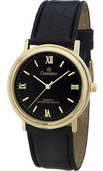 Relógio Feminino Champion Glamour Preto Ch22279n