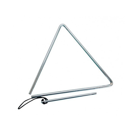 Triângulo Cromado 25cm X 8mm Phx - 79a