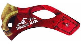 Cubierta Color Dorado Rojo P/ Elevation Training Mask2 Large