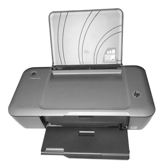 Impressora Hp Deskjet 1000 Colorida E Compacta - Completa