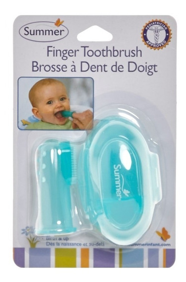 Escova Massageadora Para Bebê Summer Finger