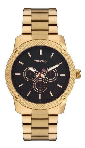 Relógio Touch Masculino Dourado Tw6p29zm/4p