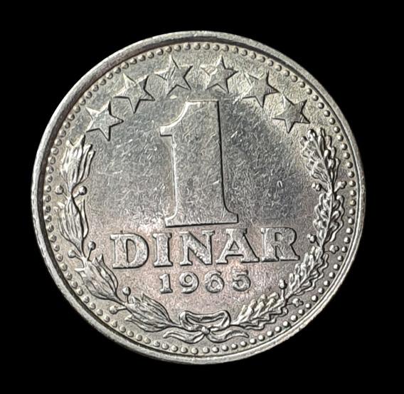 Ch C / Yugoslavia, 1 Dinar 1965 Km 47