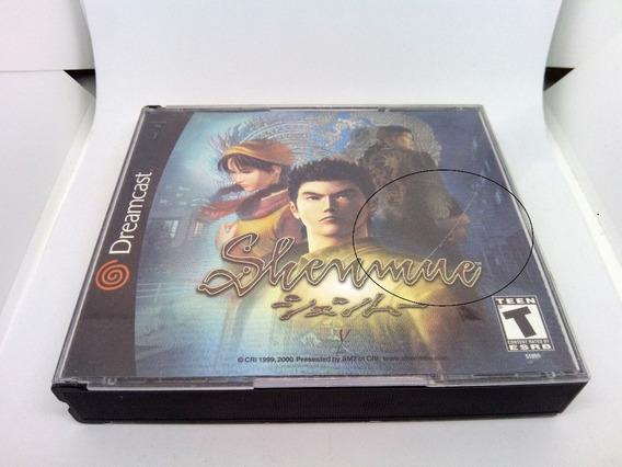Shenmue Americano Original Completo Para Dreamcast