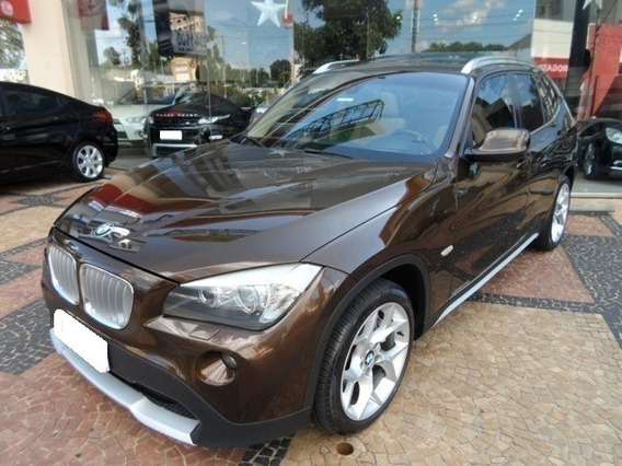 Bmw X1 2.0 18i Top Marrom 4x2 24v Gasolina 4p Aut. 2011