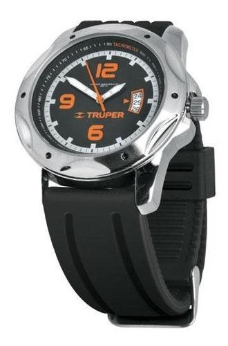 Reloj Caballero Correa De Silicon Truper 60070