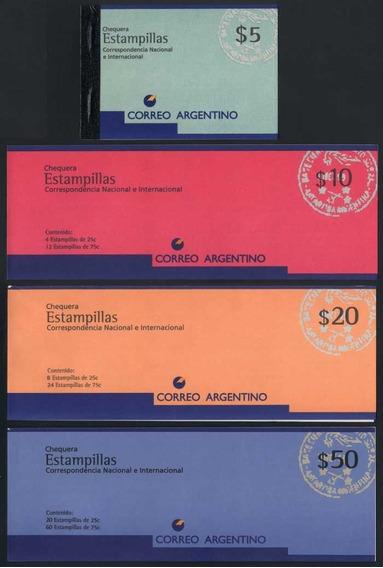 Filatelia Argentina Chequera Jalil Carnet N° 2703 (1) $ 5