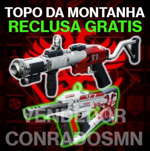 Topo Da Montanha / Mountaintop + Reclusa Gratis - Destiny Pc