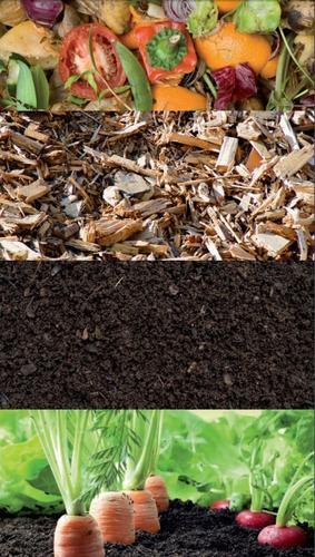 Imagen 1 de 5 de Tierra Compost Grueso/fino Orgánico Natural Mínimo 11 Bolsas