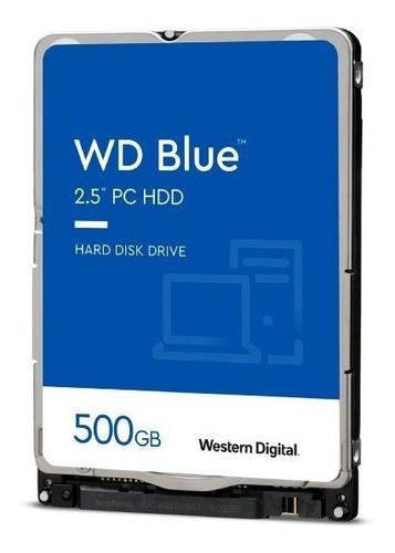 Imagem 1 de 1 de Hd De Notebook 500gb Sata Iii Western Digital Wd5000lpzx