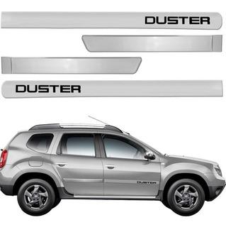 Friso Lateral Duster 11 A 19 Prata Etoile Renault Cor=carro