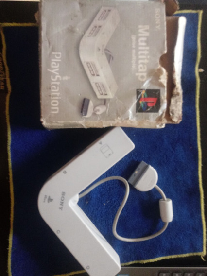 Raro Adaptador Multitap 4 Controles Playstation 1 Psx Psone
