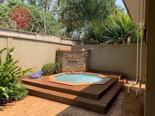 Imagem 1 de 19 de Casa Com 3 Dormitórios À Venda, 272 M² Por R$ 1.679.000,00 - Jardim Nova Aliança Sul - Ribeirão Preto/sp - Ca4039