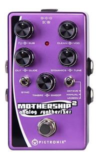 Pigtronix Mothership 2 Analog Guitar Synthesizer Pedal