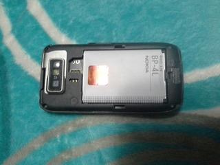 Nokia E63 Telcel Sin Tapa Trasera