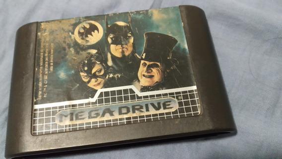 Fita Cartucho Mega Drive Batman Returns (não Testada)