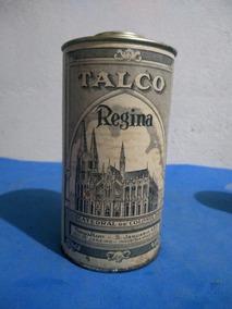 Antiga Lata De Talco Regina